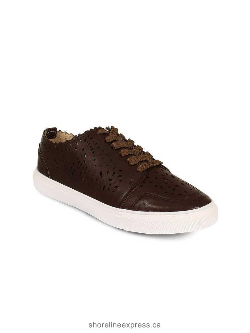Authentic 20Dresses Women Brown Sneakers