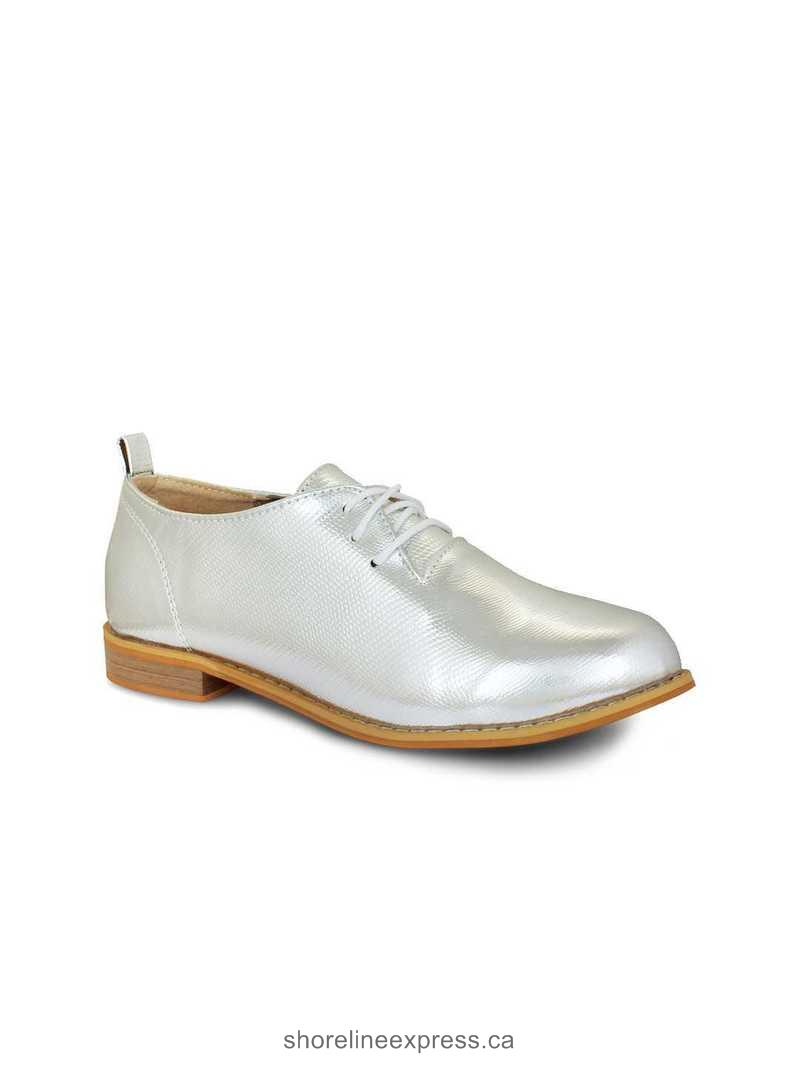 Authentic 20Dresses Women Silver-Toned Casual Shoes