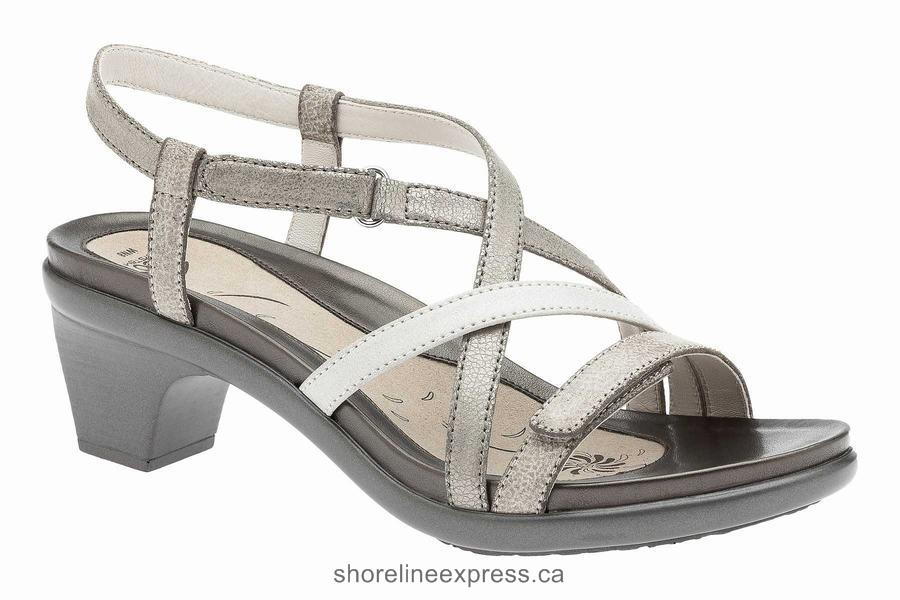 Perfect Women's Sandals ABEO Gloriana Neutral Metallic