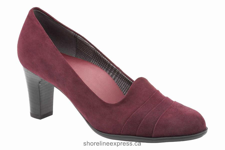 Authentic ABEO Vanna Neutral Bordeaux Women's Dress Shoes