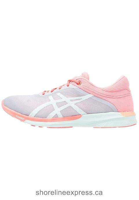 Concise Women ASICS FUZEX RUSH - Neutral running shoes Midgrey/Bay/Flash Coral
