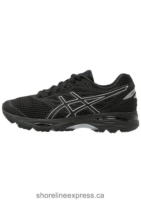 Stylish appearance ASICS GEL-CUMULUS 18 - Neutral running shoes Black/Silver Women