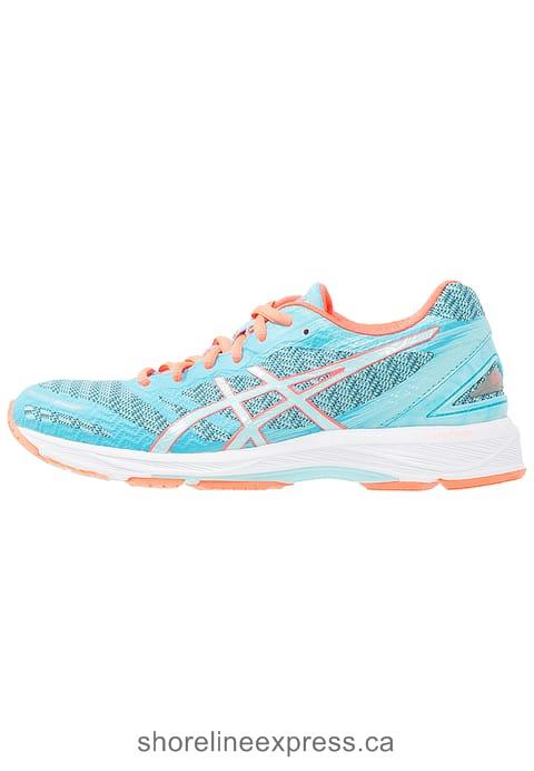 Buy classic ASICS GEL-DS TRAINER 22 - Neutral running shoes Aquarium/Aqua Splash/Flash Coral Women