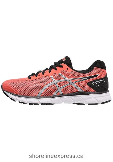 Look fabulous ASICS GEL-IMPRESSION 9 - Neutral running shoes Women Flash Coral/Silver/Black