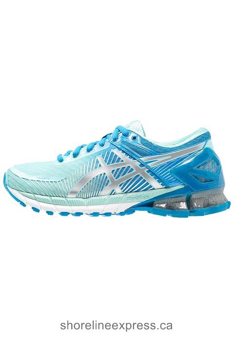 Buy Women ASICS GEL-KINSEI 6 - Neutral running shoes Diva Blue/Silver/Aqua Splash