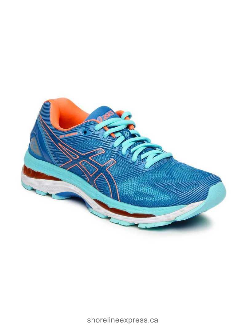 Looks expensive ASICS Women Blue GEL-NIMBUS 19(2D) Running Shoes