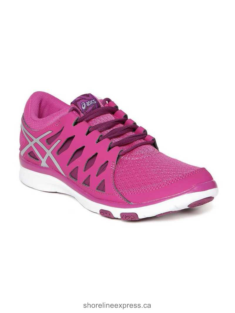 Look fabulous ASICS Women Magenta Gel-Fit Tempo 2 Training Shoes