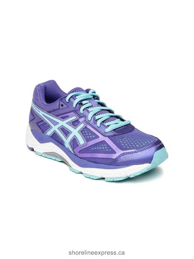 Buy comfortable ASICS Women Purple Gel Foundation 12 (D) Running Shoes