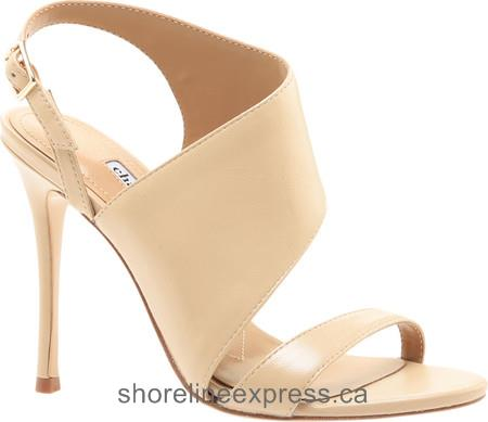 Special Offers Charles David Oslo Slingback Nude Leather Women