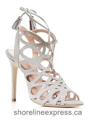 Buy comfortable Women Charles David Priscilla Cutout Caged High Heel Sandals Gray
