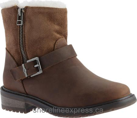 Special Offers EMU Roadside Waterproof Ankle Boot Oak Leather Women