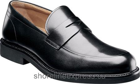 Buy comfortable Men Florsheim Gallo Penny Black Smooth Leather