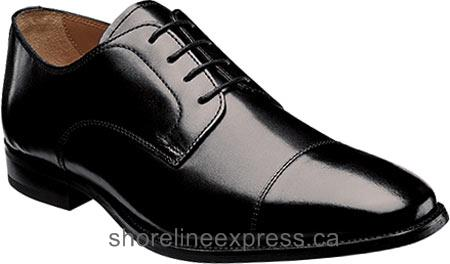 Buy top brand Men Florsheim Sabato Cap Ox Black Smooth Leather