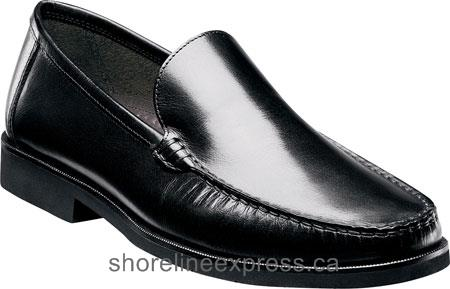 Buy classic Florsheim Tuscany Venetian Black Smooth Leather Men