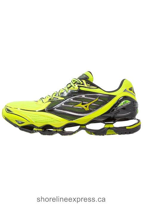 Buy designer Men Mizuno WAVE PROPHECY 6 - Neutral running shoes Safety Yellow/Black