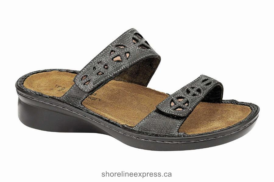Buy genuine Naot Cornet Reptile Gray Women's Sandals