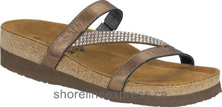 Special Offers Naot Hawaii Women Grecian Gold Leather