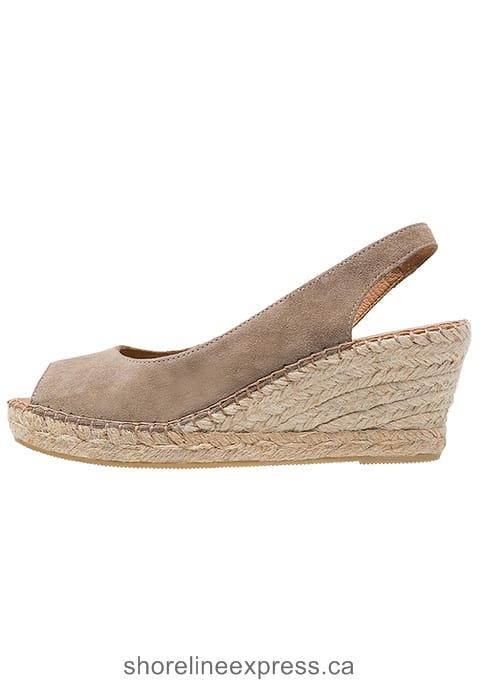 The Best Women Pavement DOT - Platform heels Taupe
