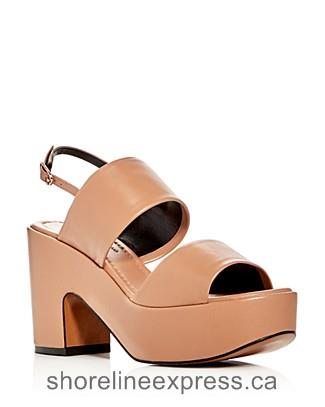 Buy classic Robert Clergerie Emple High Heel Platform Sandals Nude Women