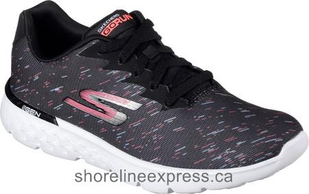 Buy pretty Women Skechers GOrun 400 Instant Running Shoe Black/Pink