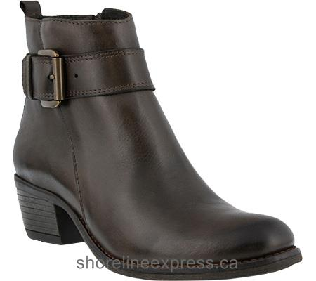 Buy designer Spring Step Isaia Bootie Women Dark Brown Leather