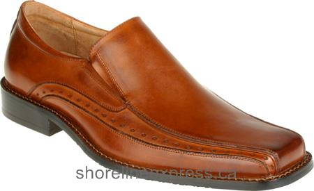 Good quality Men Stacy Adams Danton 24363 Cognac Buffalo Leather
