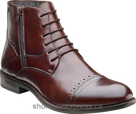Beautiful Stacy Adams Godfrey Cap Toe Boot 24990 Brown Leather Men