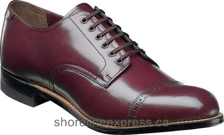 Buy trends Men Stacy Adams Madison 00012 Oxblood Kidskin Leather