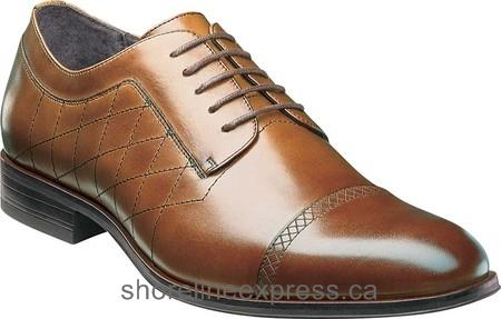 Buy authentic Stacy Adams Simmons Cap Toe Derby 25099 Men Scotch Leather