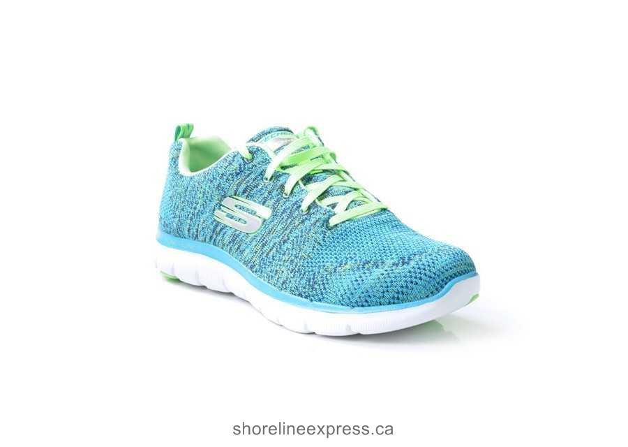 Stylish appearance Women Shoe Skechers Sneakers & Trainers Turquoise