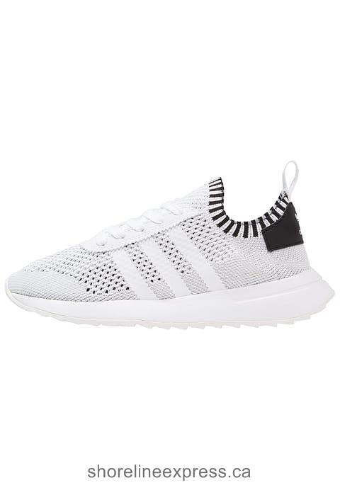 Buy fashion adidas Originals FLASHBACK PK - Trainers Women White/Core Black/Clear Green